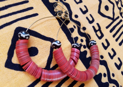 Kirabo - Hoop Earrings